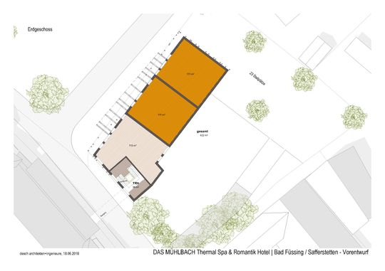 Dorfplatz Entwurf