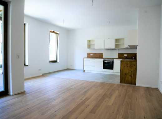 Erstbezug: exklusive 4-Zimmer-Wohnung mit Loggia, Einbauküche und Balkon in Leipzig