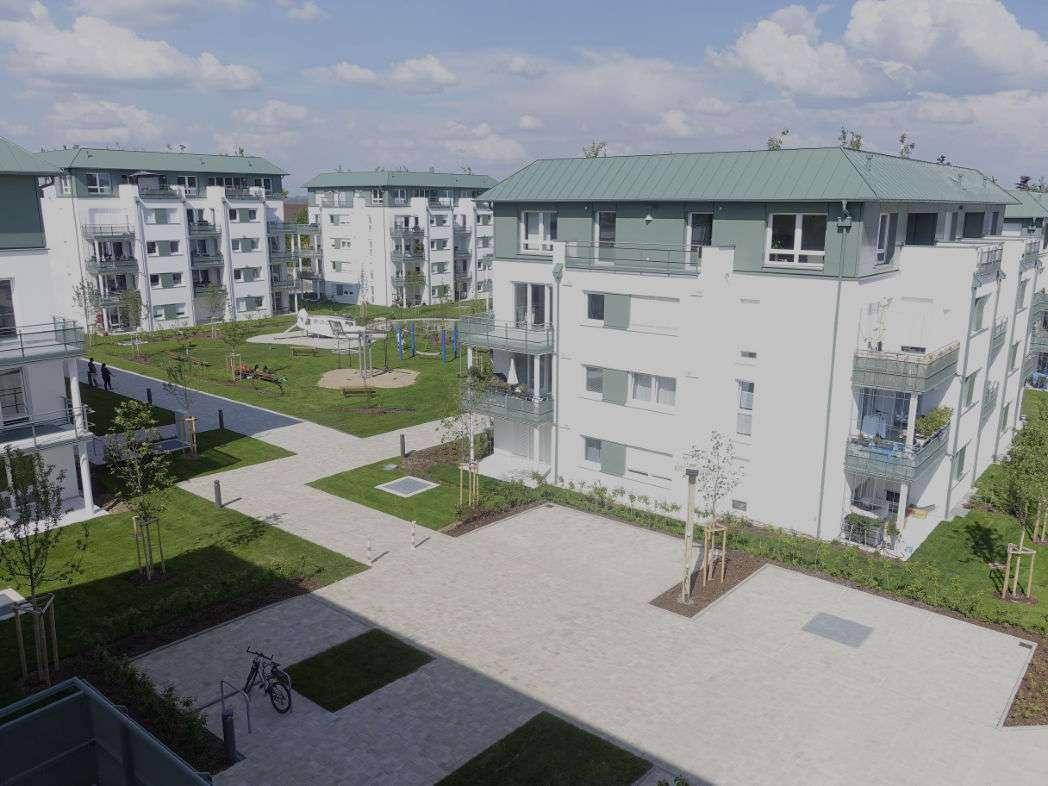 Erstbezug: Traumhafte exklusive 4-Zimmer-DG-Penthouse-Wohnung mit EBK und W/O-Balkonen in Regensburg