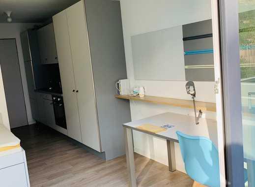 Studenten Appartement Wohnung 1 Zimmer möbiliert - 630 warm - Fitnessraum, Internet, Heizung, Strom