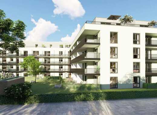 Erstbezug: exklusive 2-Zimmer-EG-Neubauwohnung mit großem Garten  in Neusäß
