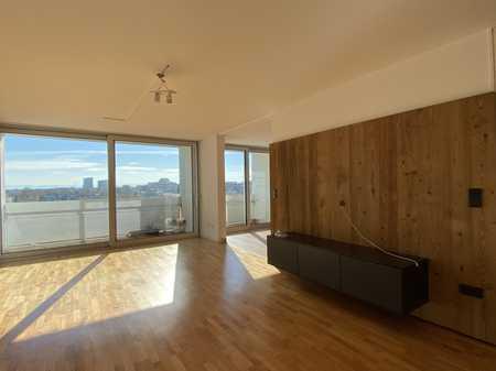 Lichtdurchflutete hochwertig ausgestattete 4-Zimmer Wohnung mit Alpenblick und Pool in bester Lage in Bogenhausen (München)