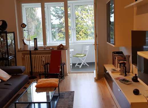 Schöne 3-Zimmer-Wohnung mit EBK in Düsseldorf-Golzheim, 2,90 m Deckenhöhe, Nachmieter gesucht