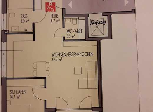 Brackenheim - Erstbezug: Schöne 3-Zimmer-Wohnung mit Einbauküche und Loggia