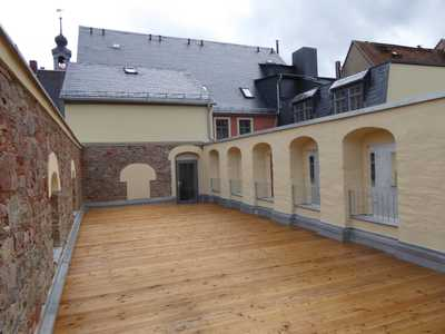 Barrierearme Single-Wohnung mit Aufzug und Terrasse