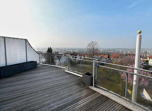 Maisonette-Wohnung mit offener Galerie und sonniger Dachterrasse mit Taunusblick in Bad Vilbel - Bes