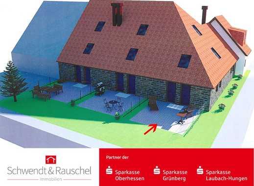 Neubau in historischem Gemäuer in Florstadt-Stammheim - Reiheneckhaus in Feldrandlage