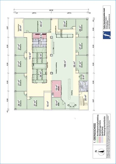 Bsp.-Plan 1. OG Büro