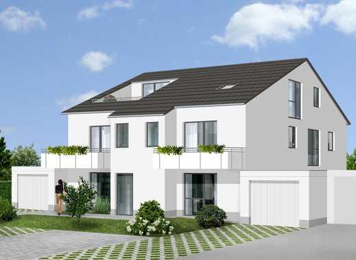 Familienwohnen = Neubau-Eigentumswohnung im EG mit Terrasse und Garten
