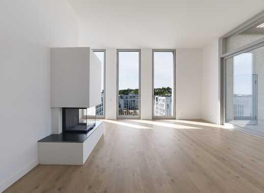 +KILLESBERGHÖHE: Aktuell vermietetes Penthouse von David Chipperfield mit separatem Mini-Apartment+