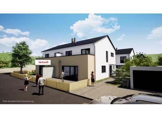 Odelzhausen DHH, KfW 55, Baubeginn erfolgt