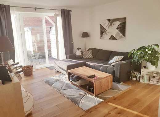 barrierearme 3-Zimmer-Neubauwohnung, Erdgeschoß mit südwest Terrasse und eigenem kl. Garten