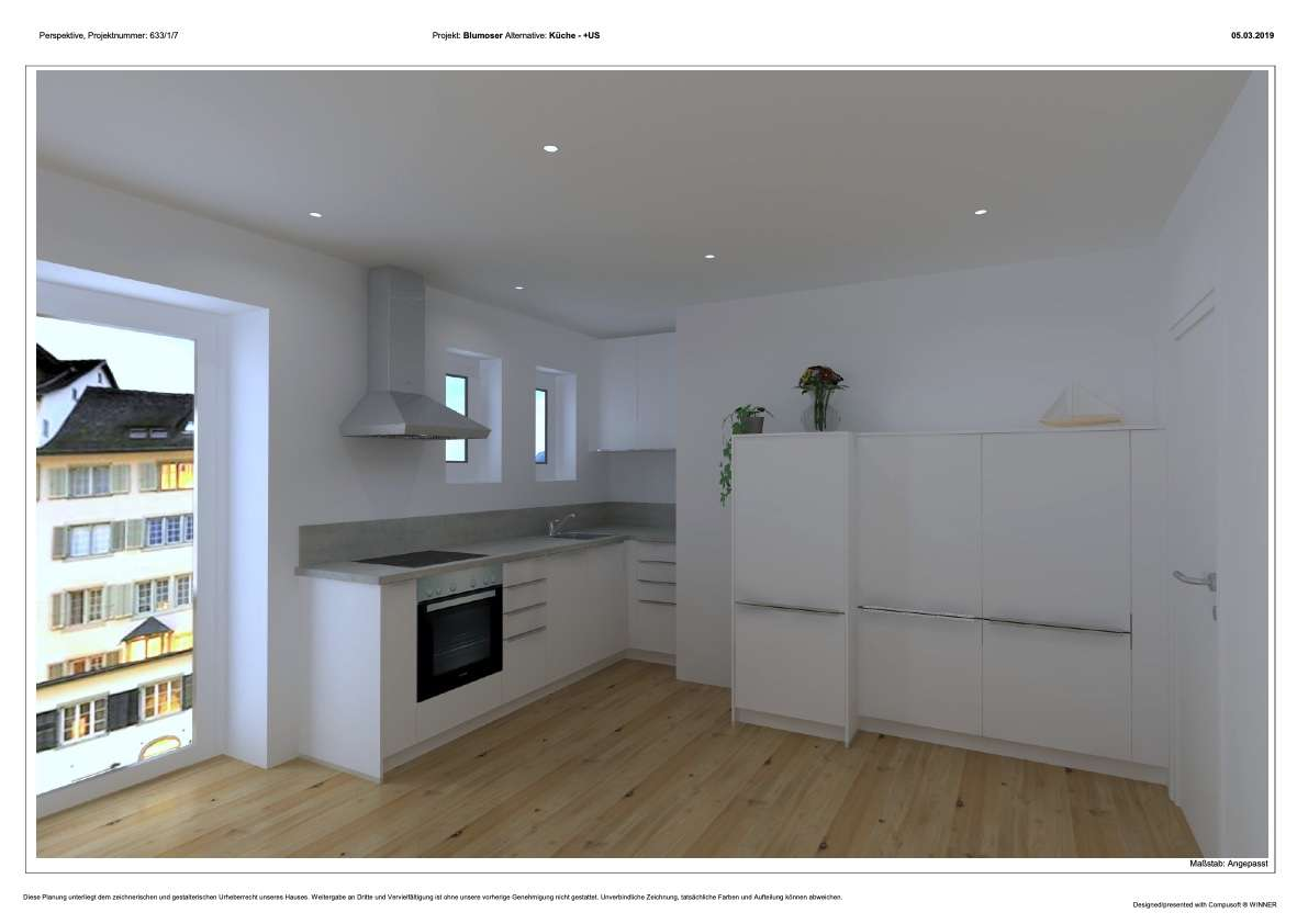 Erstbezug: 2.OG exklusive 2-Zimmer-Citywohnung  mit EBK und Balkon in Markt Schwaben