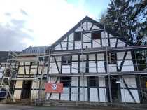 Fachwerk-Wohnhaus Eichenholz Ausbauhaus Liebhaberobjekt