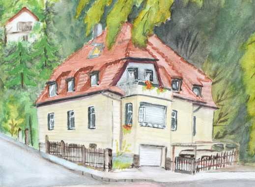 Zweifamilienhaus o. Haus mit Pension, Sauna, Wintergarten in Dresden Loschwitz