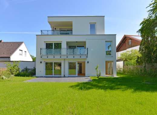 """Vermietet - provisionsfrei! """"Haus im Haus"""" 3-Zi-Mais.-Whg. und 2 Hobbyräume, riesiger SW-Garten"""