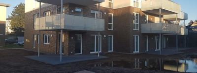 Schöne EG-Wohnung im Neubau (Erstbezug) in Porta Westfalica Neesen 3 ZKB/Terrasse
