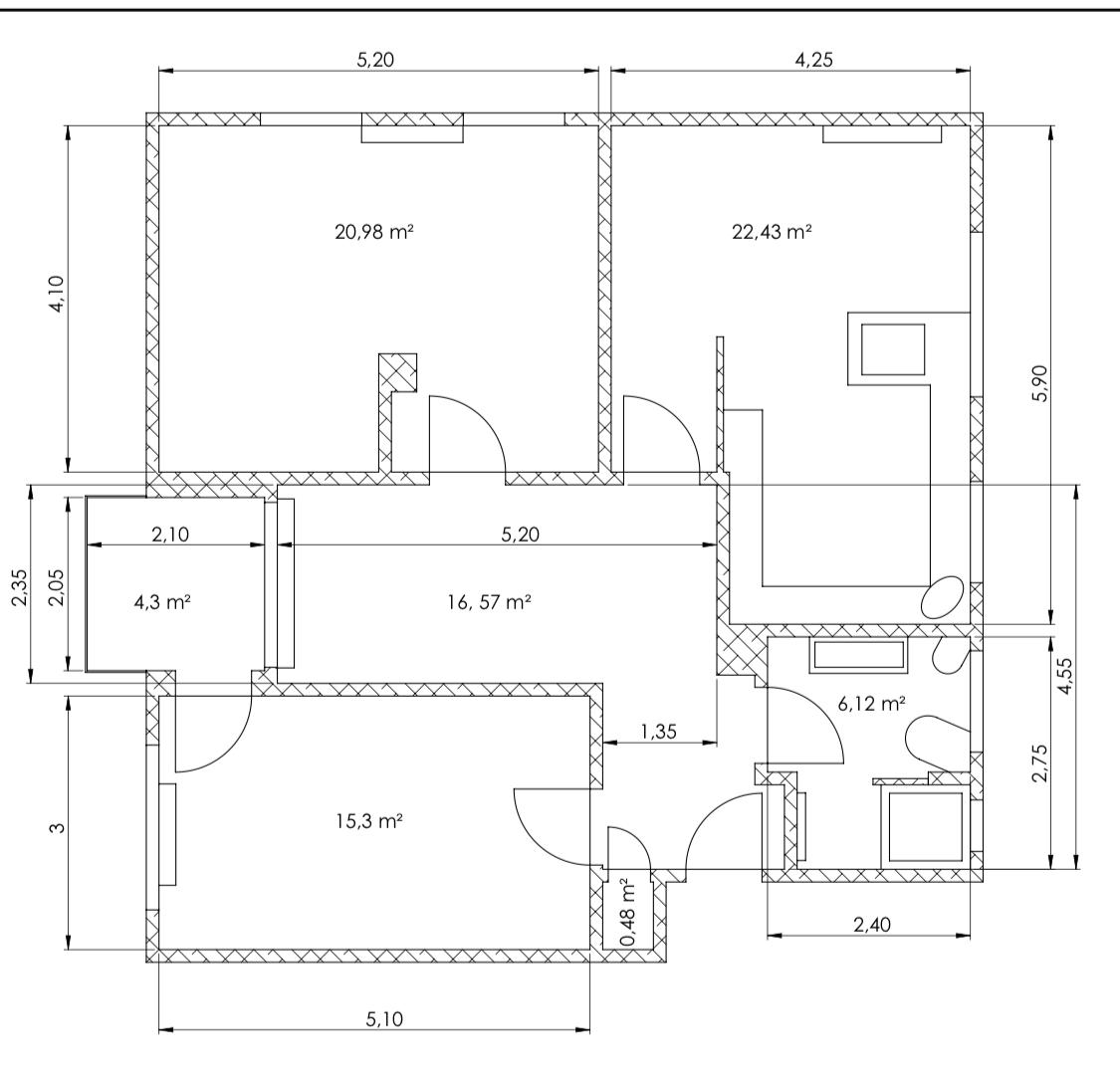 Neuwertige 3-Zimmer-Wohnung mit Garten und Einbauküche in Randersacker