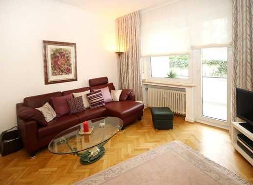 Immobilien-Richter: Top ausgestattete 2-Zimmer-Wohnung MÖBLIERT, Altbau, hohen Decken und Südbalkon