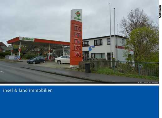 Tankstelle und Wohnhaus mit 4 Wohneinheiten