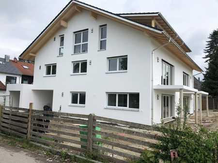 Erstbezug: helle und ruhige 2-Zimmer-Wohnung, EG, Garten in Unterhaching