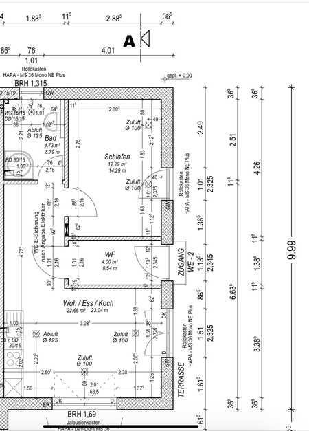 Luxuriöse 1,5-Zimmer-Terrassenwohnung mit Balkon und Einbauküche in Roth (Roth)