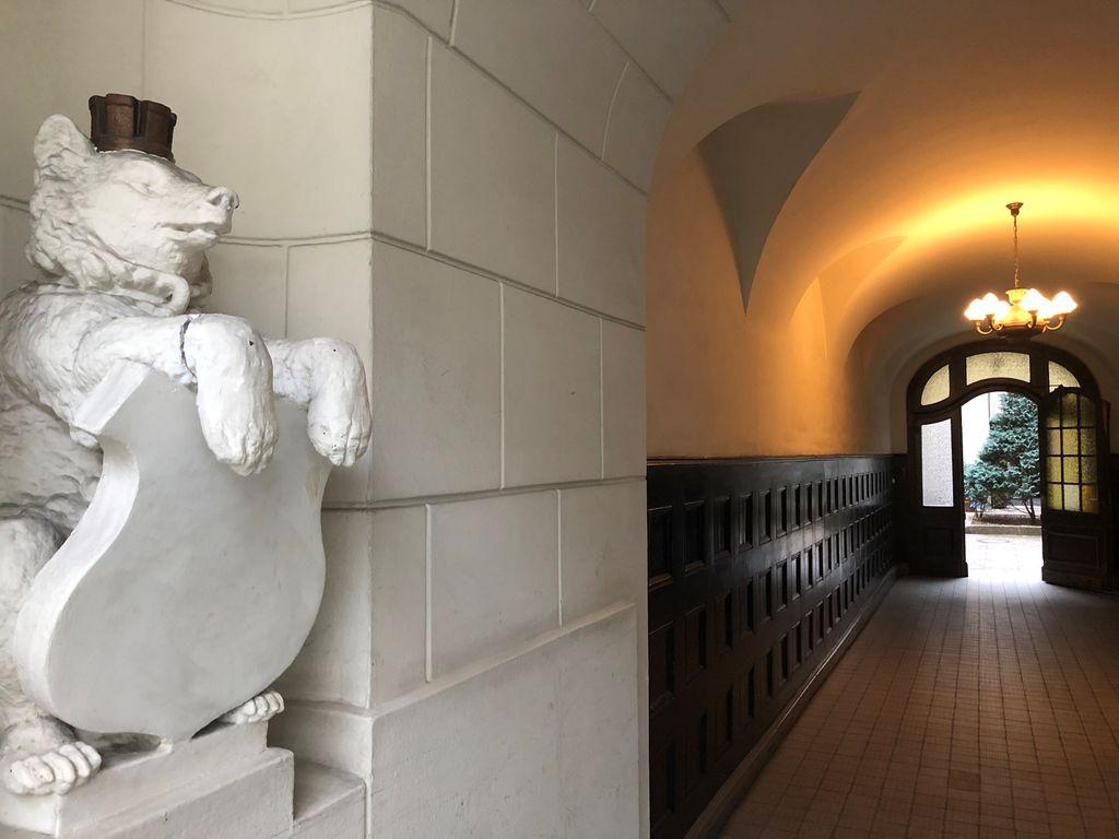 Eingangsbereich Kantstr. 153