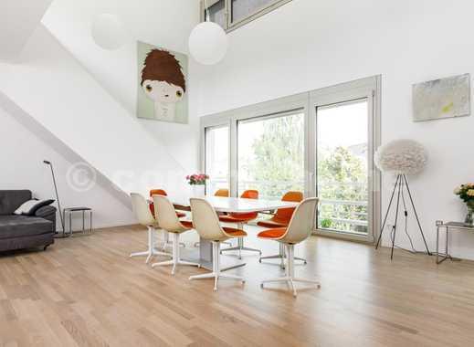Penthouse living: Fantastisches Apartment mit Loft feeling & begrünter Rooftop Terrasse