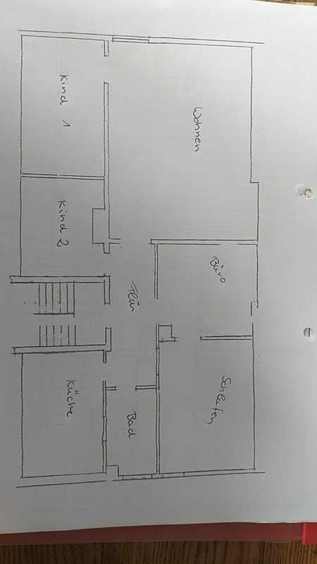 Freundliche, sanierte 4-Zimmer-DG-Wohnung in Allersberg in Allersberg