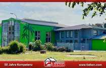 Riesiger Gewerbehallen-Komplex inklusive Gastronomiebetrieb für