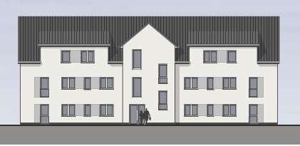 Erstbezug: Tolle 4-Zimmer-Neubau-Wohnung mit Garten und Einbauküche in Weetzen