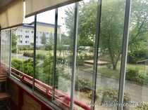 Top Wohnung Erdgeschoss ruhig verglaster