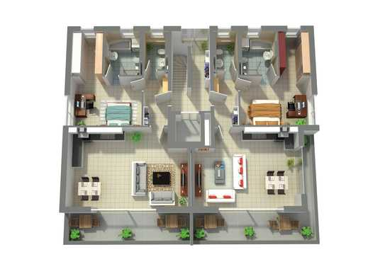 Penthouse Wohnung mit Dachterrasse