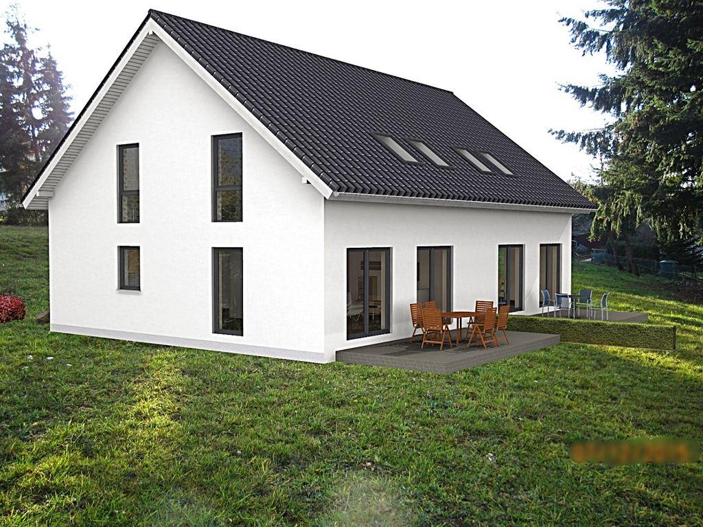 2 Doppelhaushälften Beispiel 1