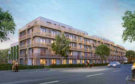 Erstbezug * Neubau - Voll möbliertes Apartment für Studenten, ruhig zum Innenhof gelegen in Freimann (München)