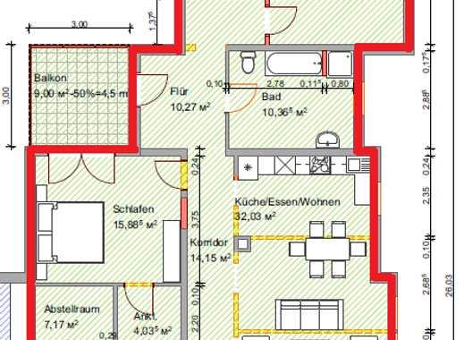 Großzügige 152qm Wohnung, provisionsfrei zu vermieten ab 01.01.2020