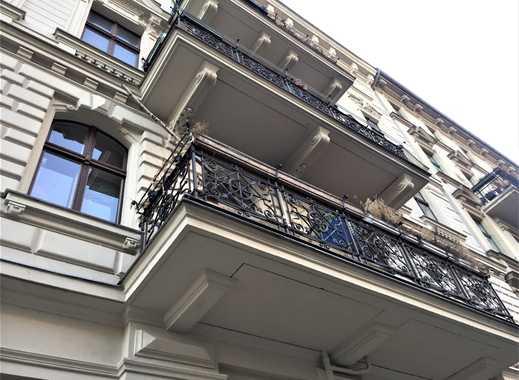 P.-Berg: Helmholtzplatz, perfekt für Praxis/Büro kein Apartment! Altbau, Dielen, EG Seitenflügel