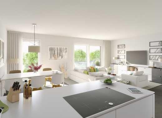 Helle  Süd-Wohnung, mit 2 Bädern, großem Wohn-Koch- und Essbereich mit Balkon!