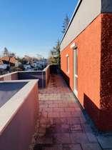 Terrasse lange Seite