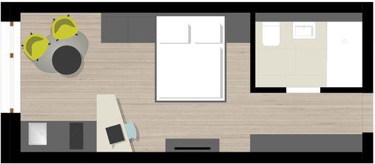 Apartment Smart_Grundriss