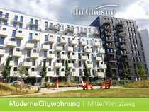 Bild Moderne, neue 3-Zimmerwohnung in Mitte Kreuzberg: Parkett, Balkon, EBK, ...