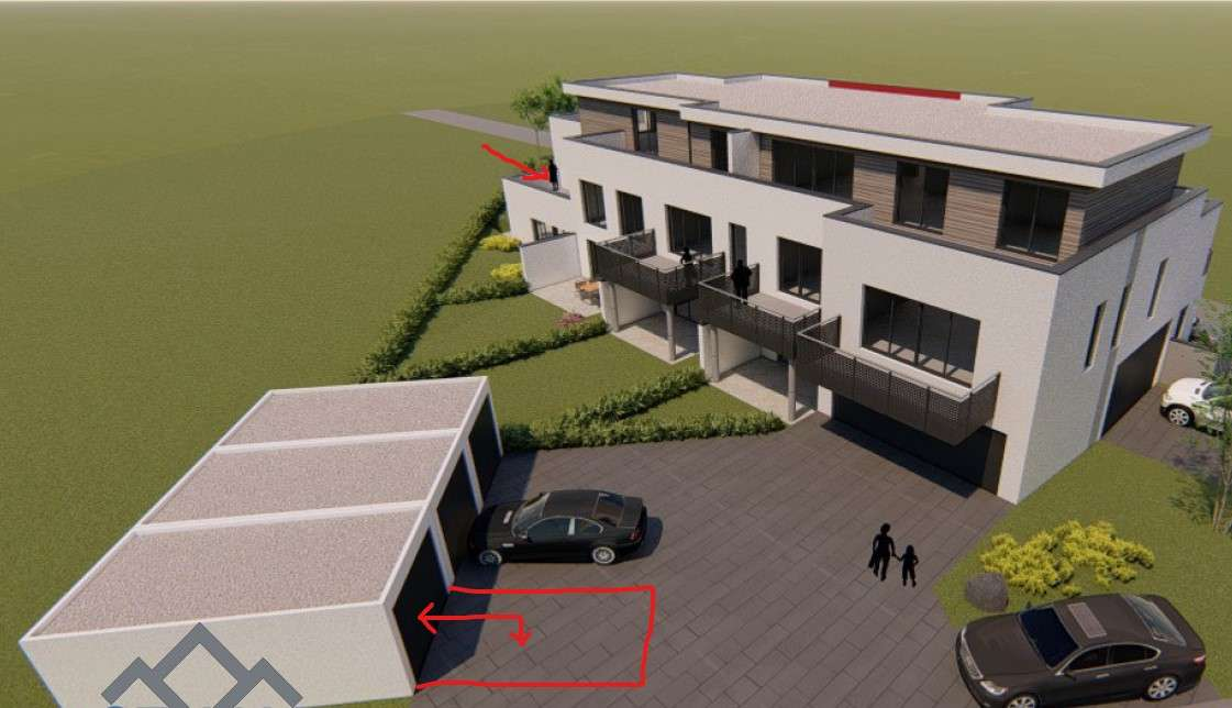Wunderschöne 3 Zimmer Wohnung mit großzügiger Dachterrasse in