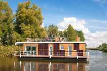Modernes Hausboot - Wohnen und Leben
