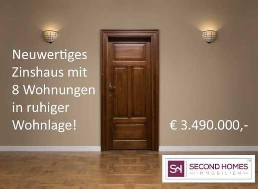 Neuwertiges und voll vermietetes Zinshaus mit 8 Wohneinheiten!