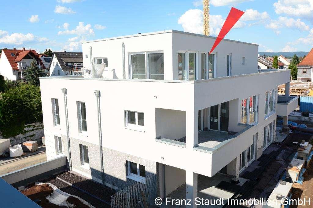 NEUBAU: Exklusive Penthouse-Wohnung in Goldbach mit großer Dachterrasse in Goldbach (Aschaffenburg)