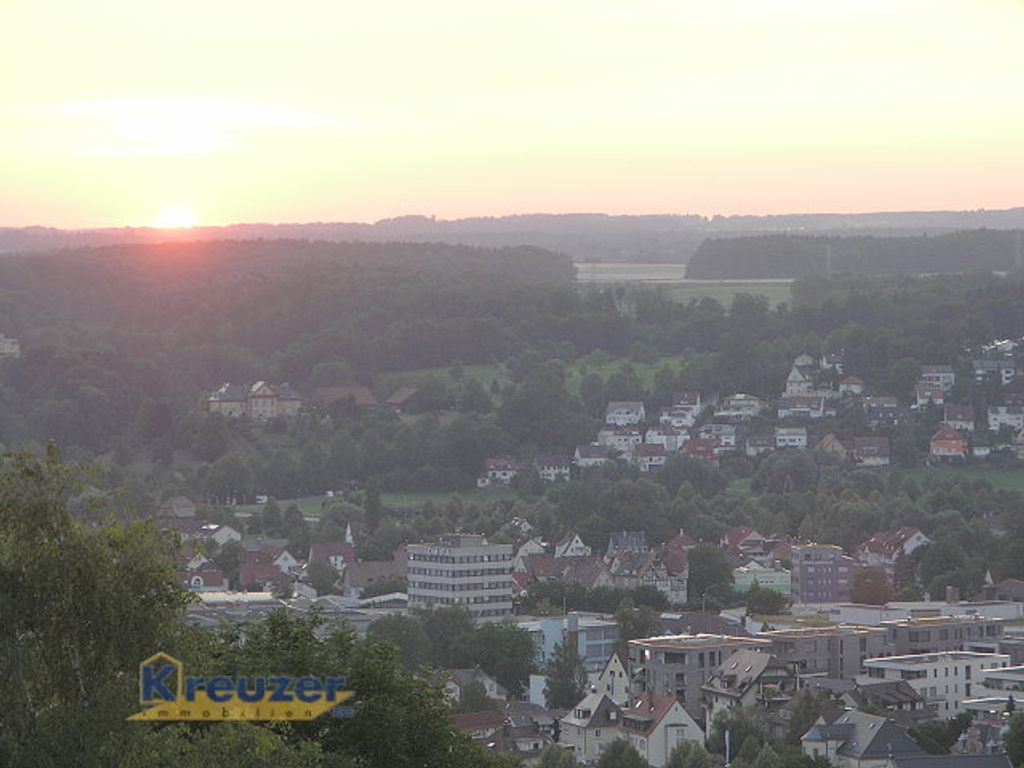 Aussicht Sonnenuntergang