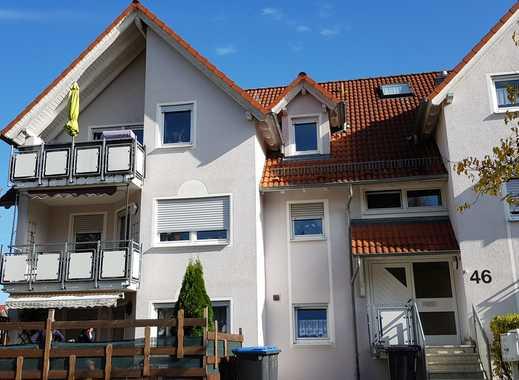 Gepflegte 4-Zimmer-Maisonette-Wohnung mit Balkon in Münsingen