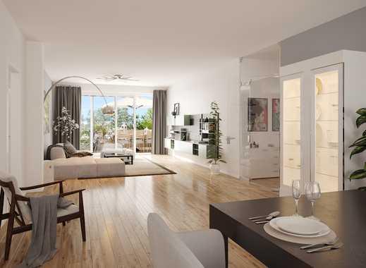 Erstbezug & bezugsfertig / traumhafte 3 Zimmer Wohnung mit Blick ins Grüne