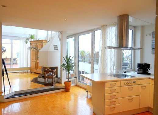Die alternative zum Hotel ! Penthouse Wohnung über den Dächern von Mainz