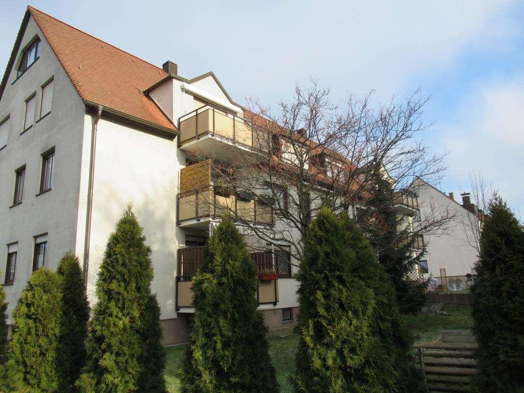 Gepflegte 4 Zi. Galeriewohnung mit Balkon Nbg-Thon / Wohnung mieten  in